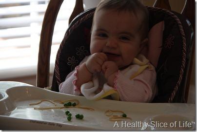 gummy smile pasta and peas
