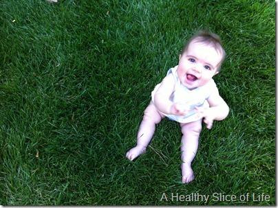 in grass 7 months