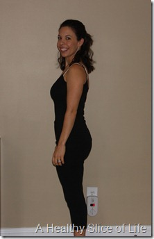 8 months postpartum- side view
