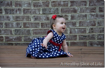 Memorial Day- Hailey dressed