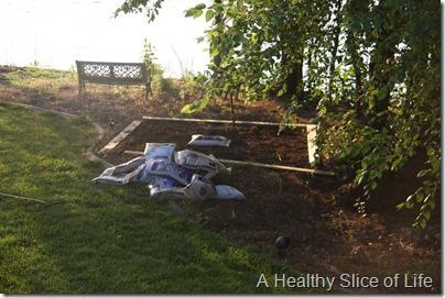 Memorial Day- building garden
