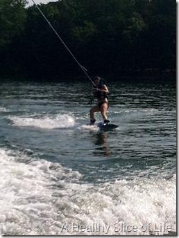 Memorial Day- me wakeboarding