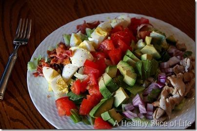 Paleo Eating- Cobb Salad