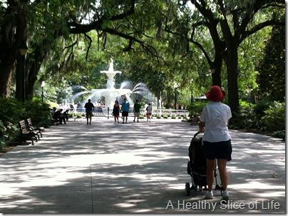 Savannah - forsyth park