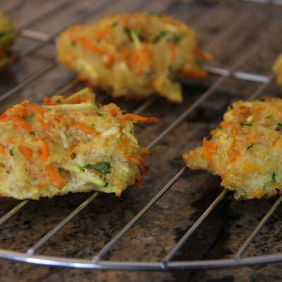 Vegetable Quinoa Biscuits for Baby