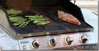 asparagus on th grill