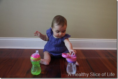 baby led weaning- battle of the sippy cups