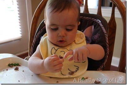 baby led weaning- exploring