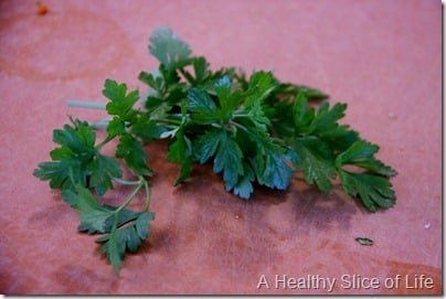 parsley superfood baby
