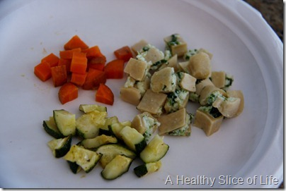 8 month old meals- dinner- baby led weaning