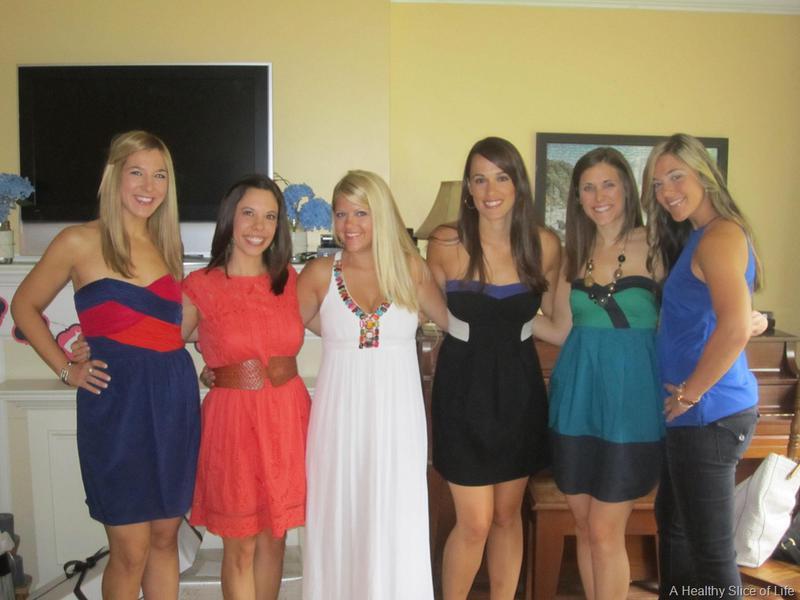 atlanta bridal shower girls