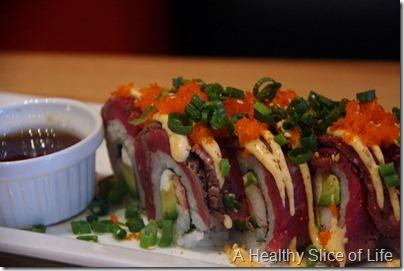 Cowfish Charlotte NC- Doug's Filet Roll