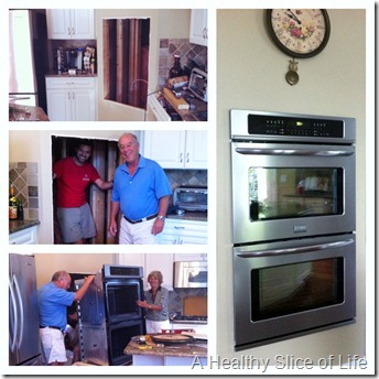 weekend- installing double ovens