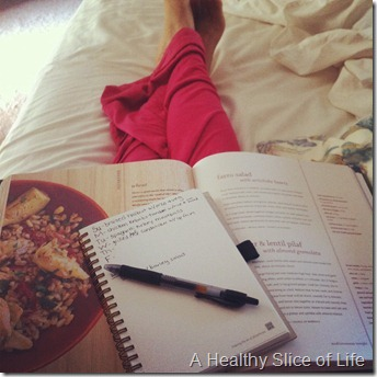 weekend- meal planning