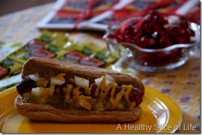 DOLE banana party- hot dog