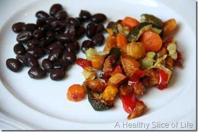 Munchkin Meals- Lunch- blw- roasted vegetables- close up