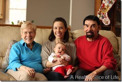 Christmas 4 generations