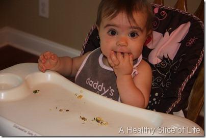 Hailey eats real food funny