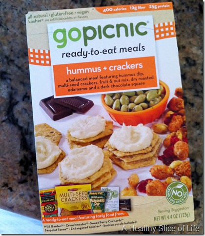 New Product- GoPicnic ready to eat meals