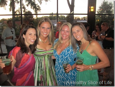 Sweetwater Brewery high school reunion- cheer girls