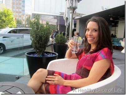 W Midtown Atlanta- enjoying the bar
