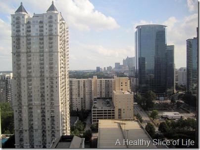 W Midtown Atlanta- view