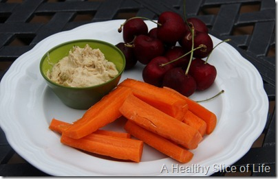 WIAW- snack plate