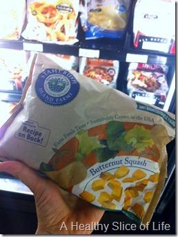 munchkin meals- quick meals- frozen butternut squash
