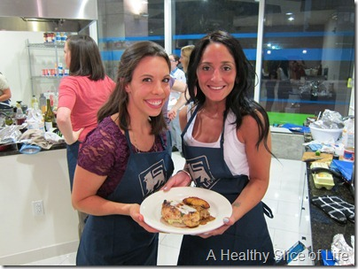 Food Lion Blogger Cook Off- Ally and me