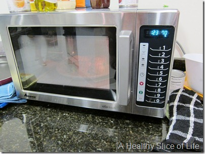Food Lion Blogger Cook Off- crazy microwave