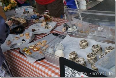 Weekend- Davidson Farmers Market- Taste the market- goat cheese