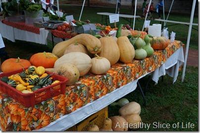 Weekend- Davidson Farmers Market- funky gourds