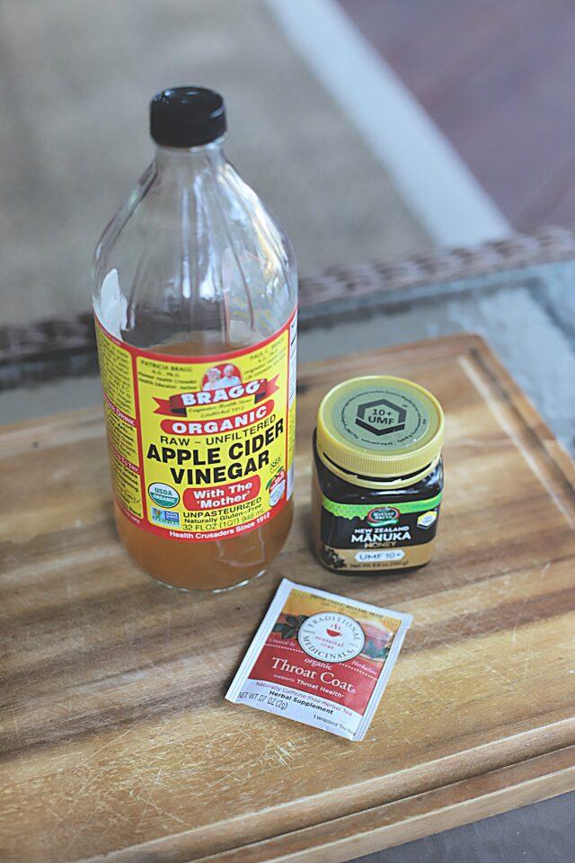 acv and manuka honey