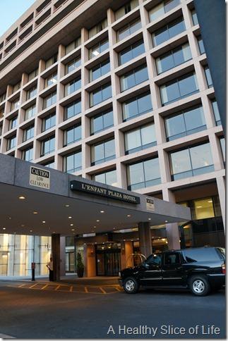 L'Enfant Plaza Hotel Washingtn DC- front