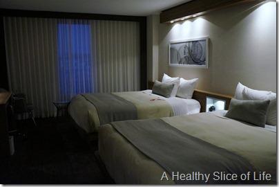 L'Enfant Plaza Hotel Washington DC- the room