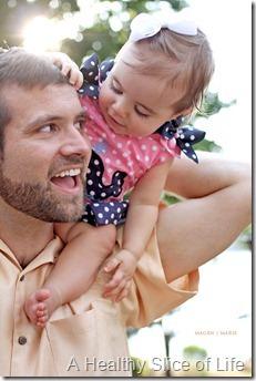 Magen Marie Photography- Hailey's 1st birthday- hi dad