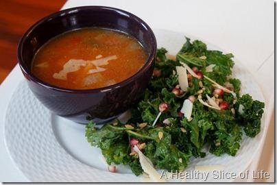 Wiaw- a very veggie lunch