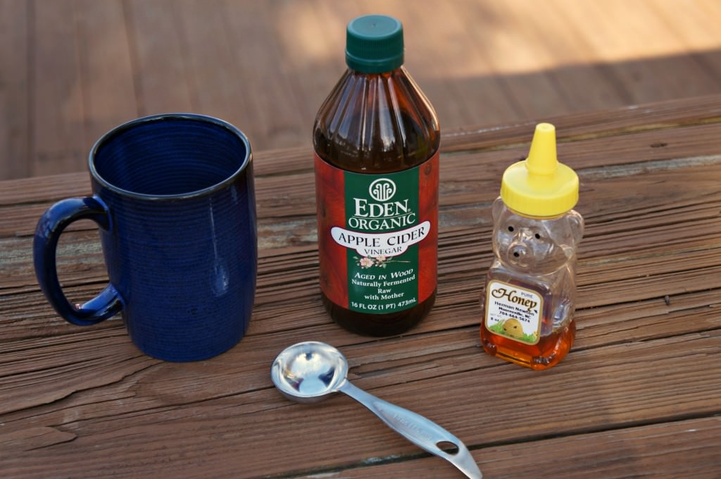 apple cider vinegar is a natural cure