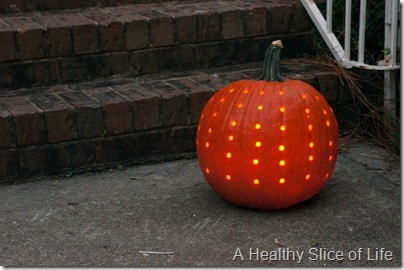 decorative drill pumpkin