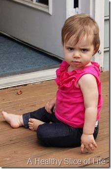 hailey serious face