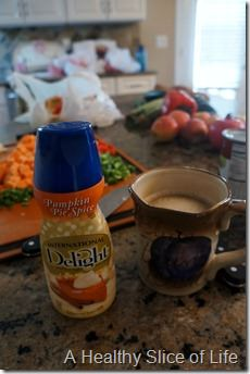 international delight- pumpkin pie