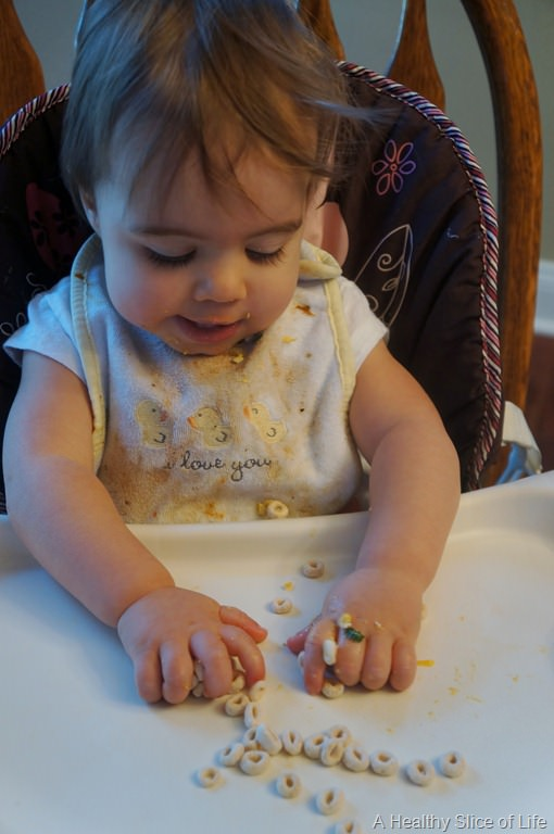 Munchkin Meals: 13 Months Old | A Healthy Slice of Life