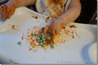 munchkin meals- peas