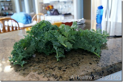 overnight kale salad- kale