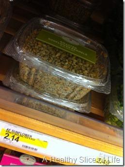 overnight kale salad- sunflower seeds