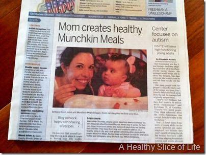 Charlotte Observer Munchkin Meals