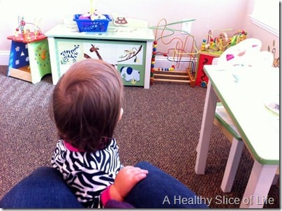 baby's first fever- doctor's office