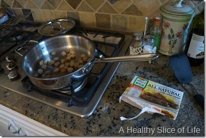make ahead breakfast burritos- sausage