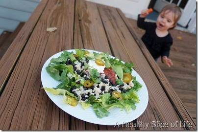 trouble with calorie counting- lunch