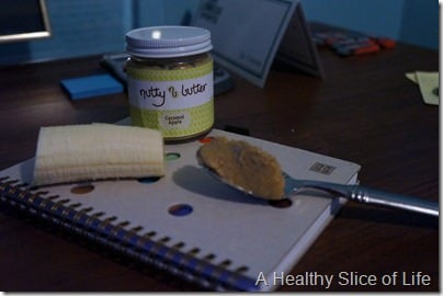 trouble with calorie counting- nutty butter